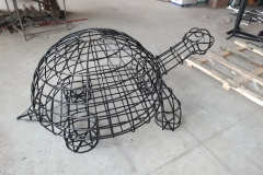 Цветочница в виде черепахи