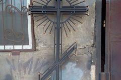 Кованый ритуальный крест