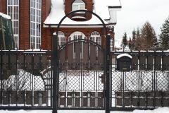 Ворота и калитка 62